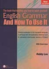 Image of English Grammar And How To Use It